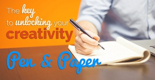 Creativity with pen & paper