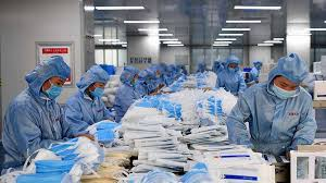 Mask production increased to meet the pandemic requirement by South African fashion industry.