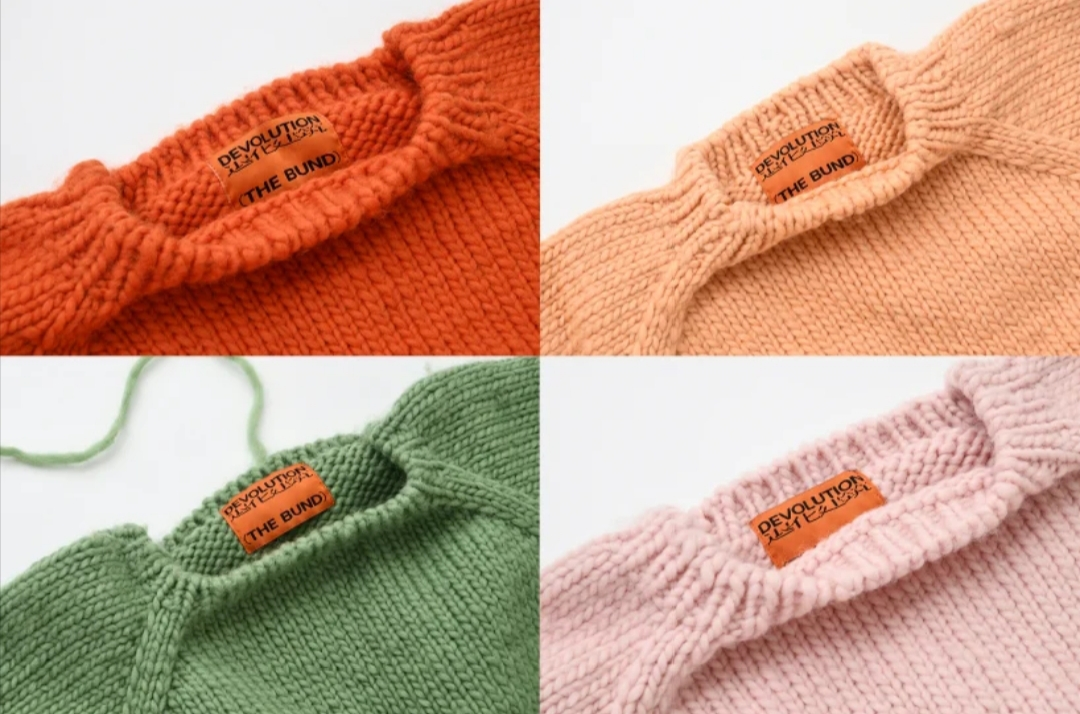 An Overview Of The Handmade Knitwear Collection 'The bund'