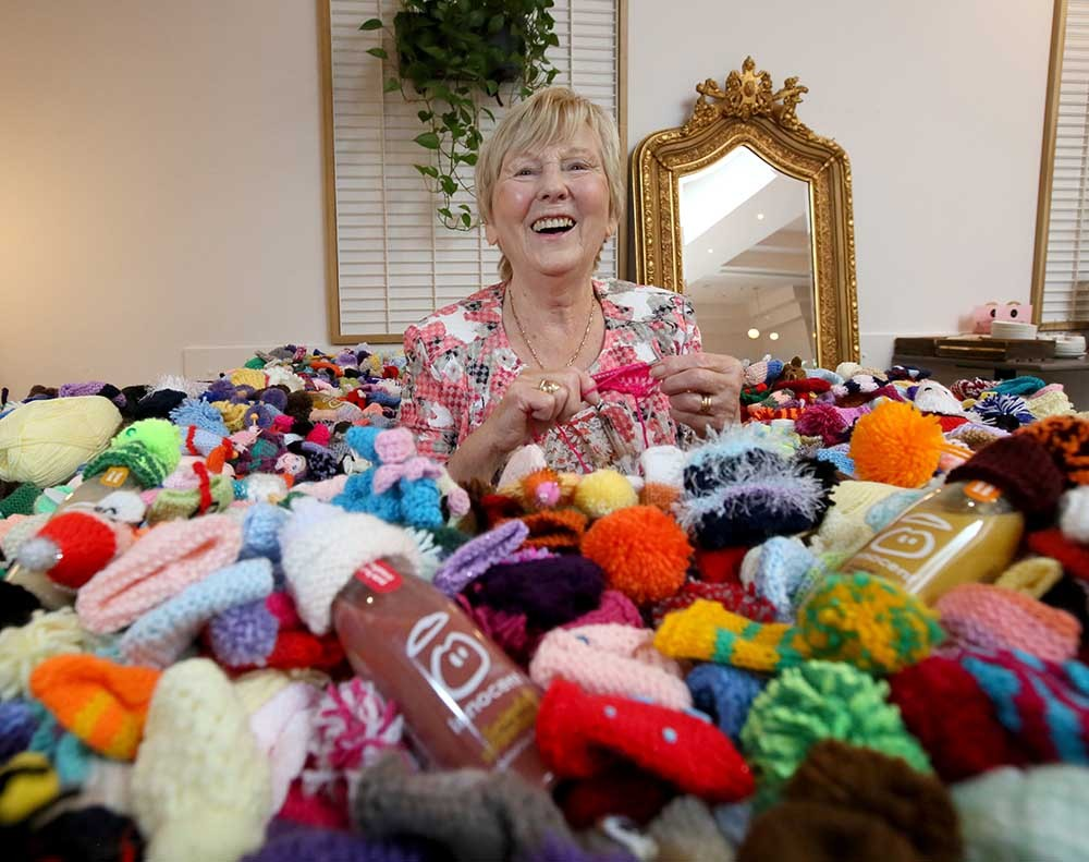 Innocent Ireland Helping Out By Providing Free Knitting Kits