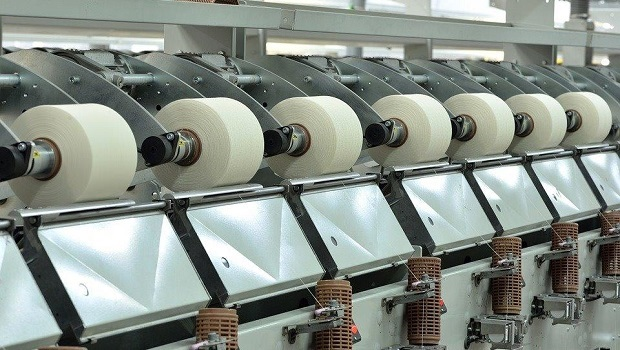 Shipments of new textile machinery decreased in 2019