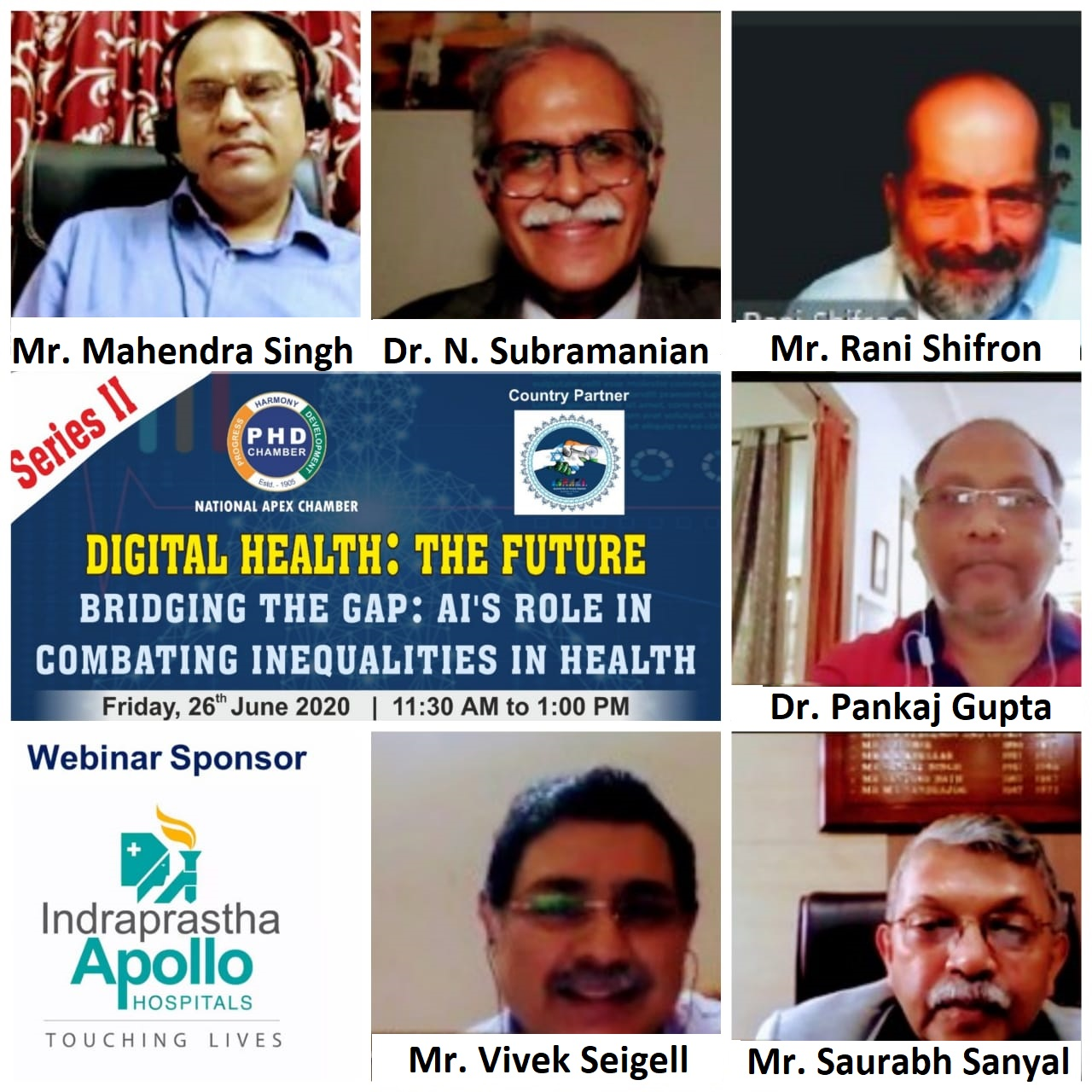 The Future, series II on Bridging the Gap: AI's role in Combating inequalities in Health