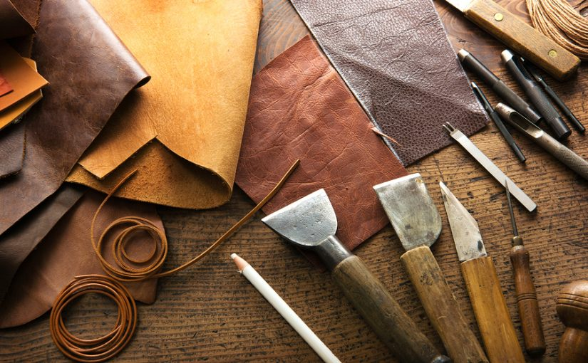 PROCESS OF LEATHER MAKING