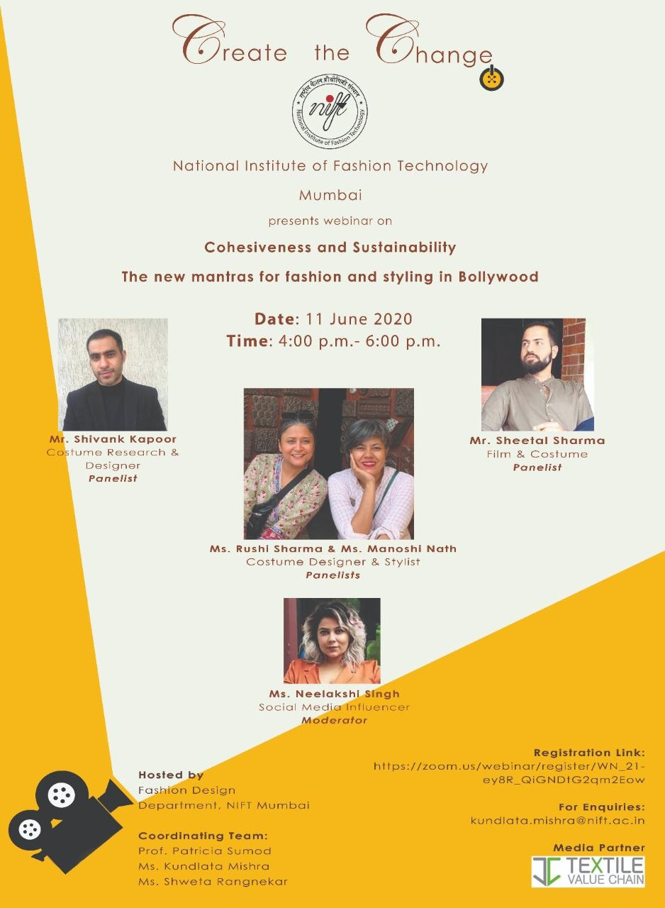 11th June Webinar By Nift On Fashion Textile Value Chain