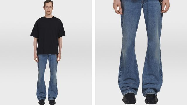 Flare jeans are coming back?