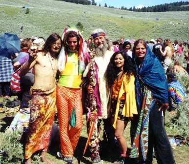 Hippies: The influence of music on fashion in the 1960s
