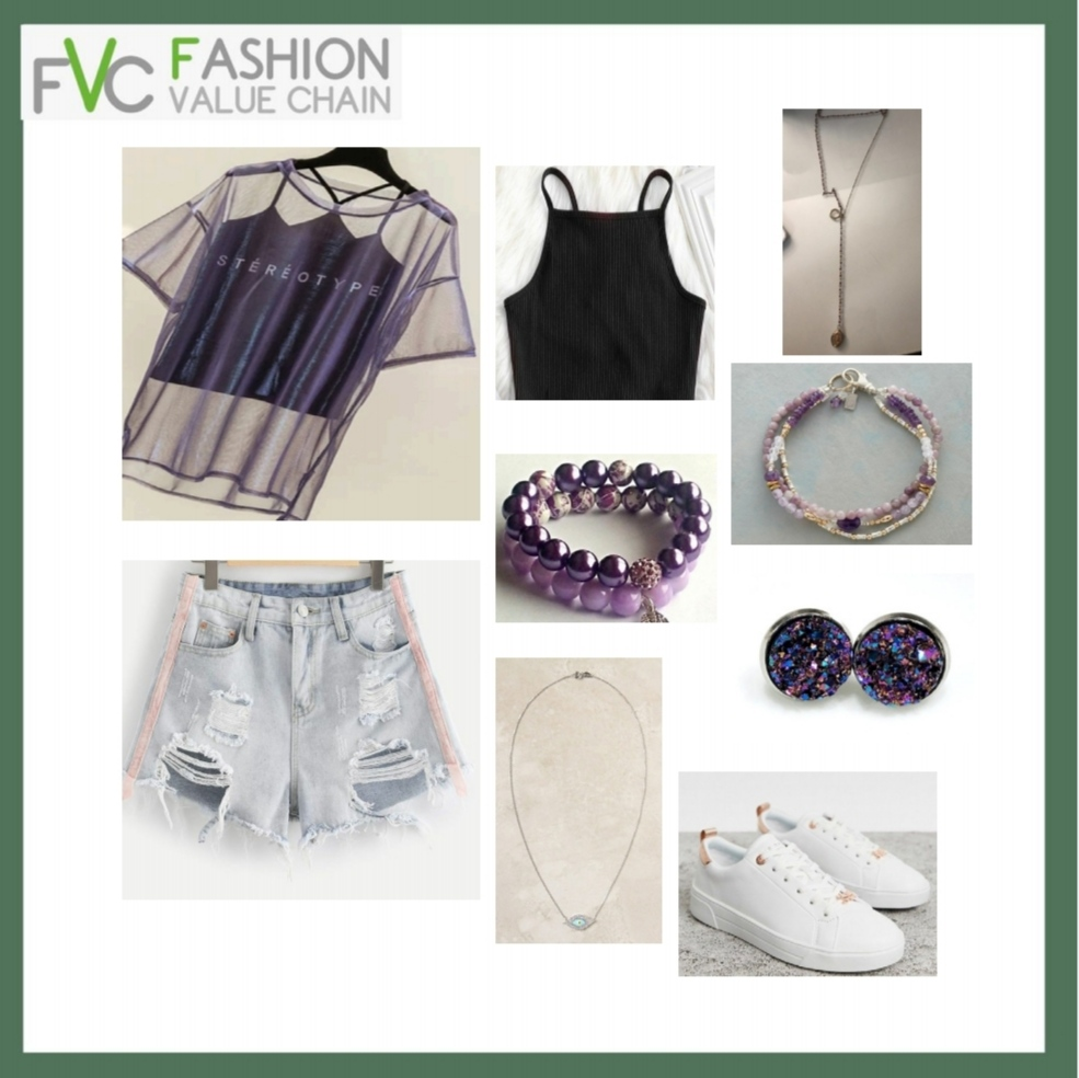 Get set ready with purple