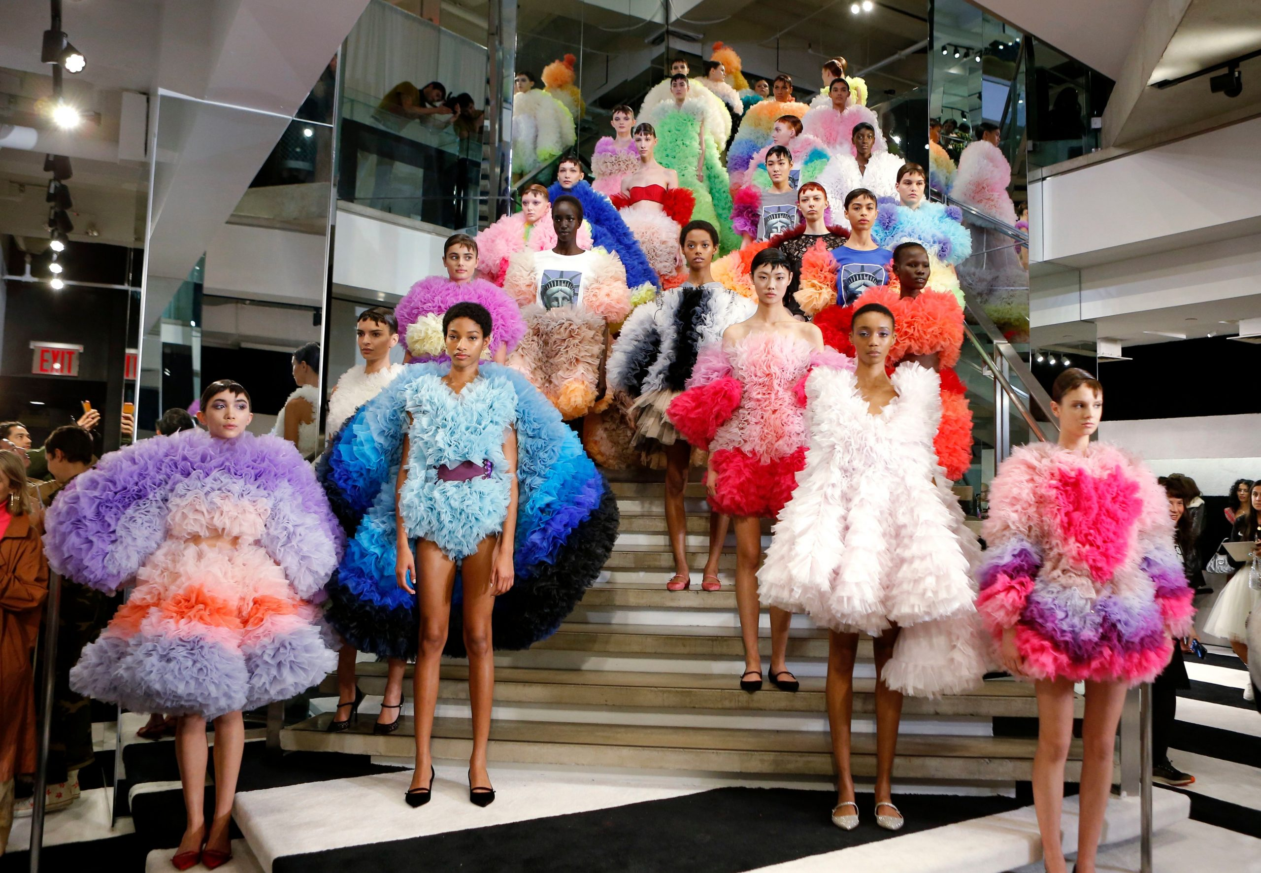 Possible chances for New York fashion week to be held on live