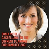 Sonia Wedell-Castellano on the current planning for DOMOTEX 2021