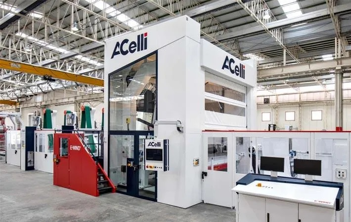 A CELLI SELECTED BY ERUSLU NONWOVEN FOR NEW END-LINE