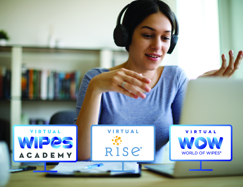 INDA's World of Wipes® and RISE® 2020 Conferences Transition to All Virtual Format Matching Corporate Travel Policies