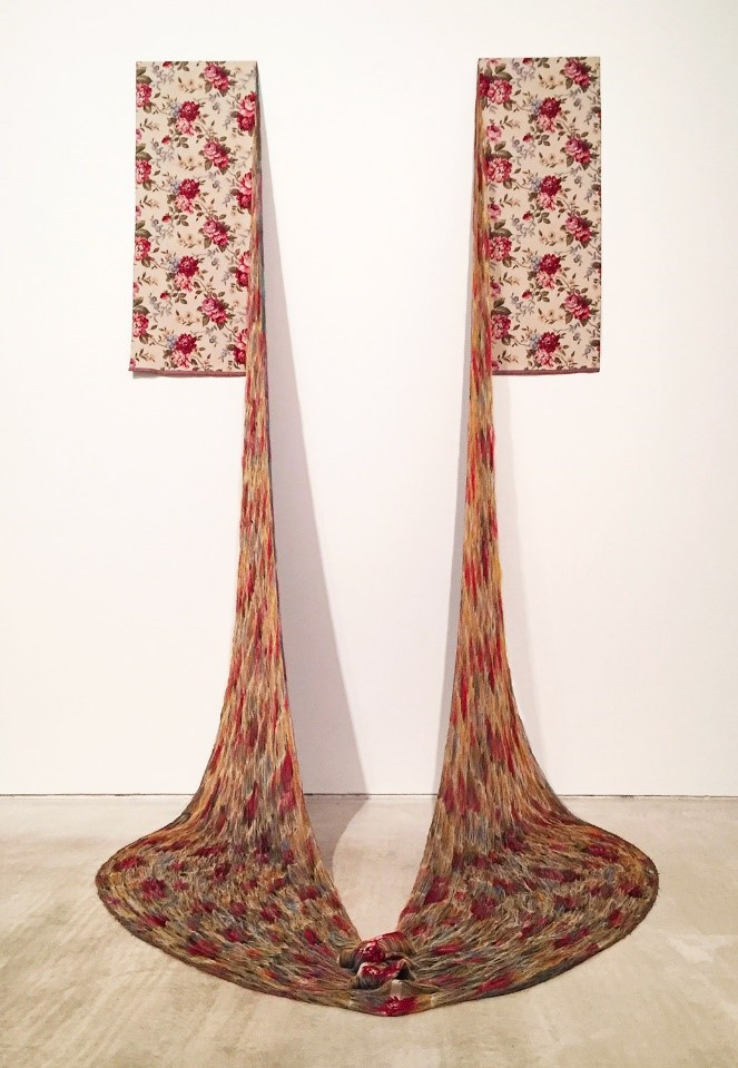 Artist Aiko Tezuka Unravels and Re-Weaves Traditional Textiles in Installations