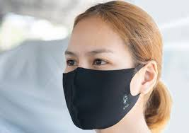 Skywalk collaborated with Polygiene to treat face mask