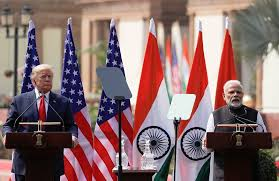 U.S. stood as India's top trading partner