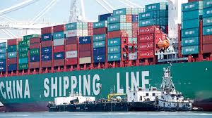 Chinese shipments getting clearance from the customs