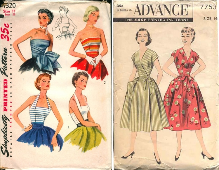 Fashion inspiration from the past: Vintage and Retro