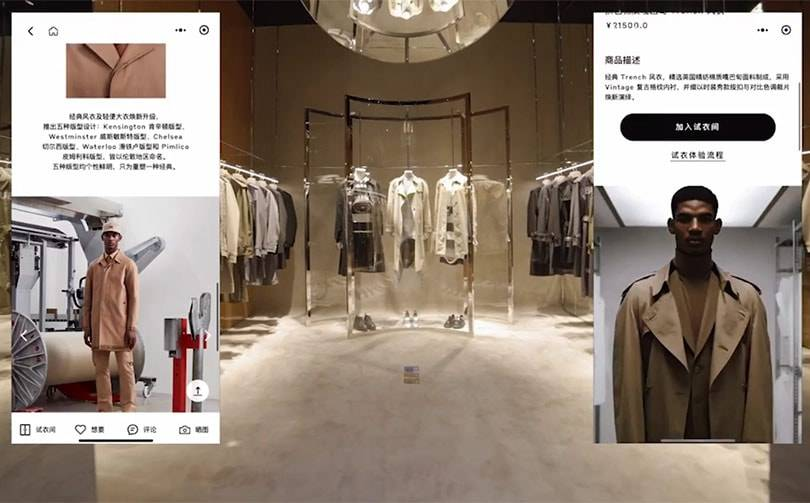 Burberry launches first social retail store in China