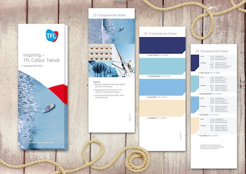 For Spring/Summer 2022 TFL releases Colour Trends Catalogue