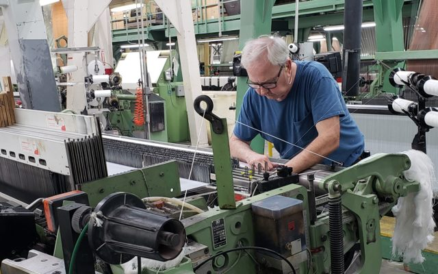 Guilford textile mill shifts from furniture production to clothing for health care workers