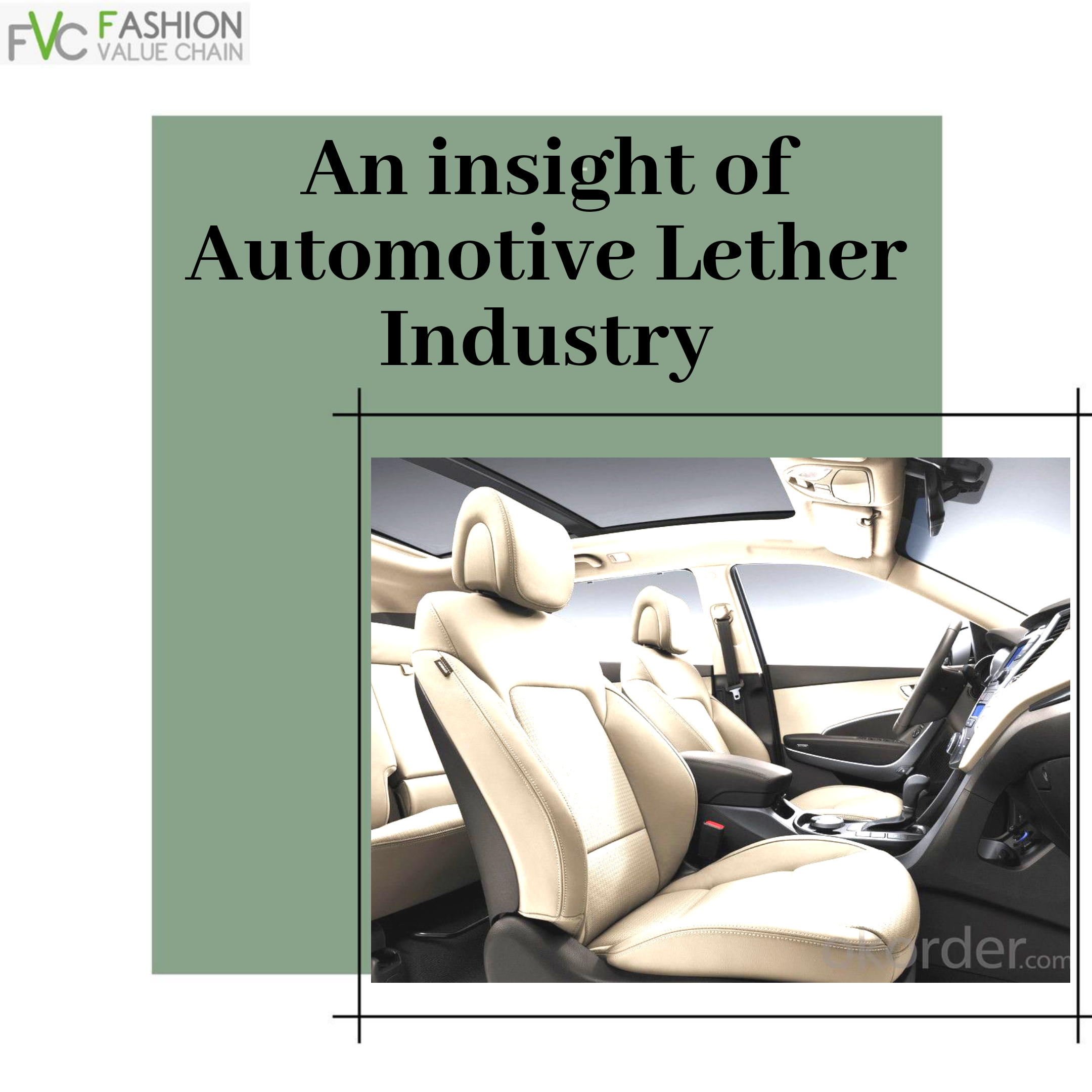 An Insight of Automotive Leather Industry