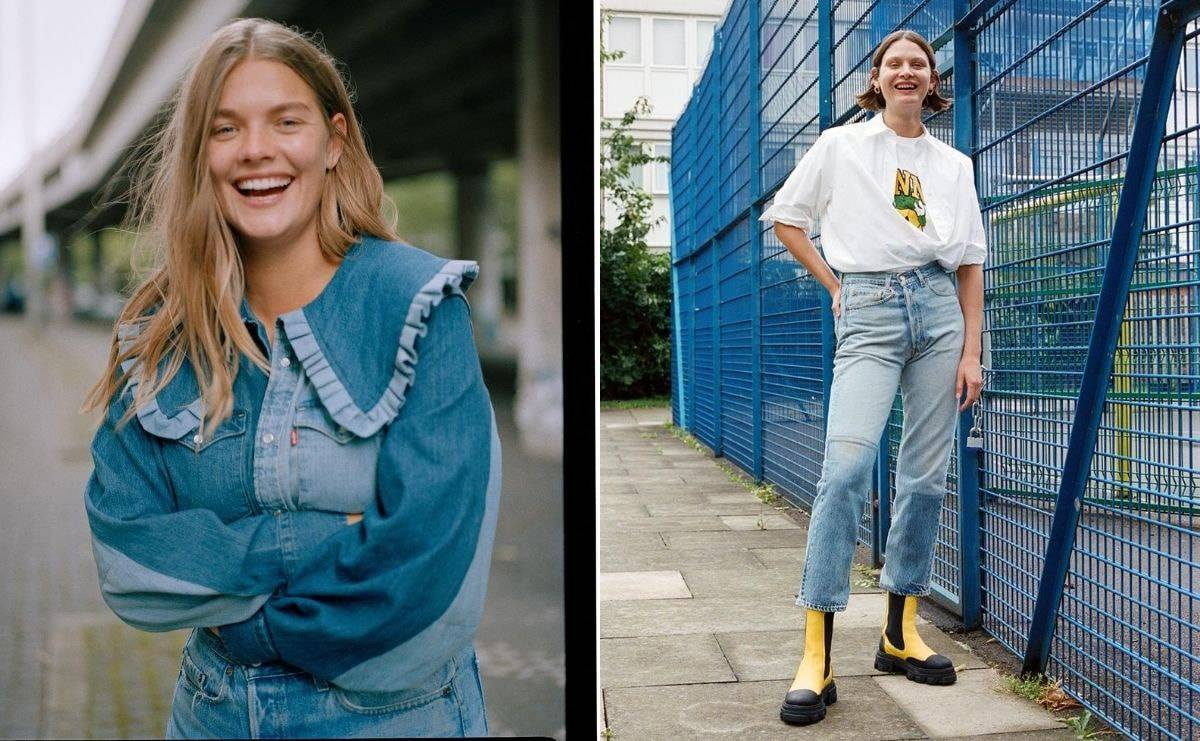 Ganni launching rental denim in collaboration with Levi's