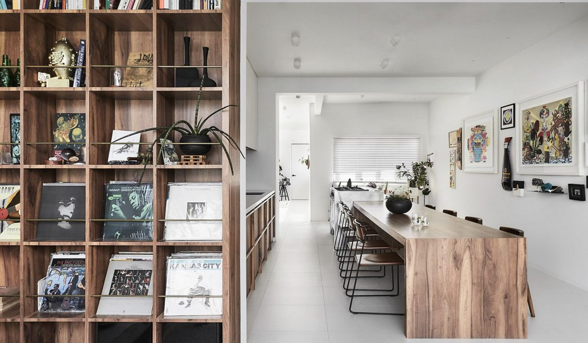 A stylish apartment with no design approach