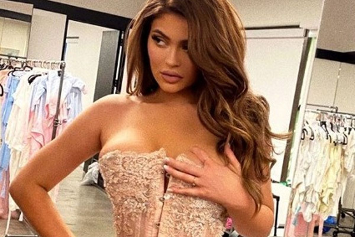 Kylie Jenner's custom made corset could be the perfect birthday gift