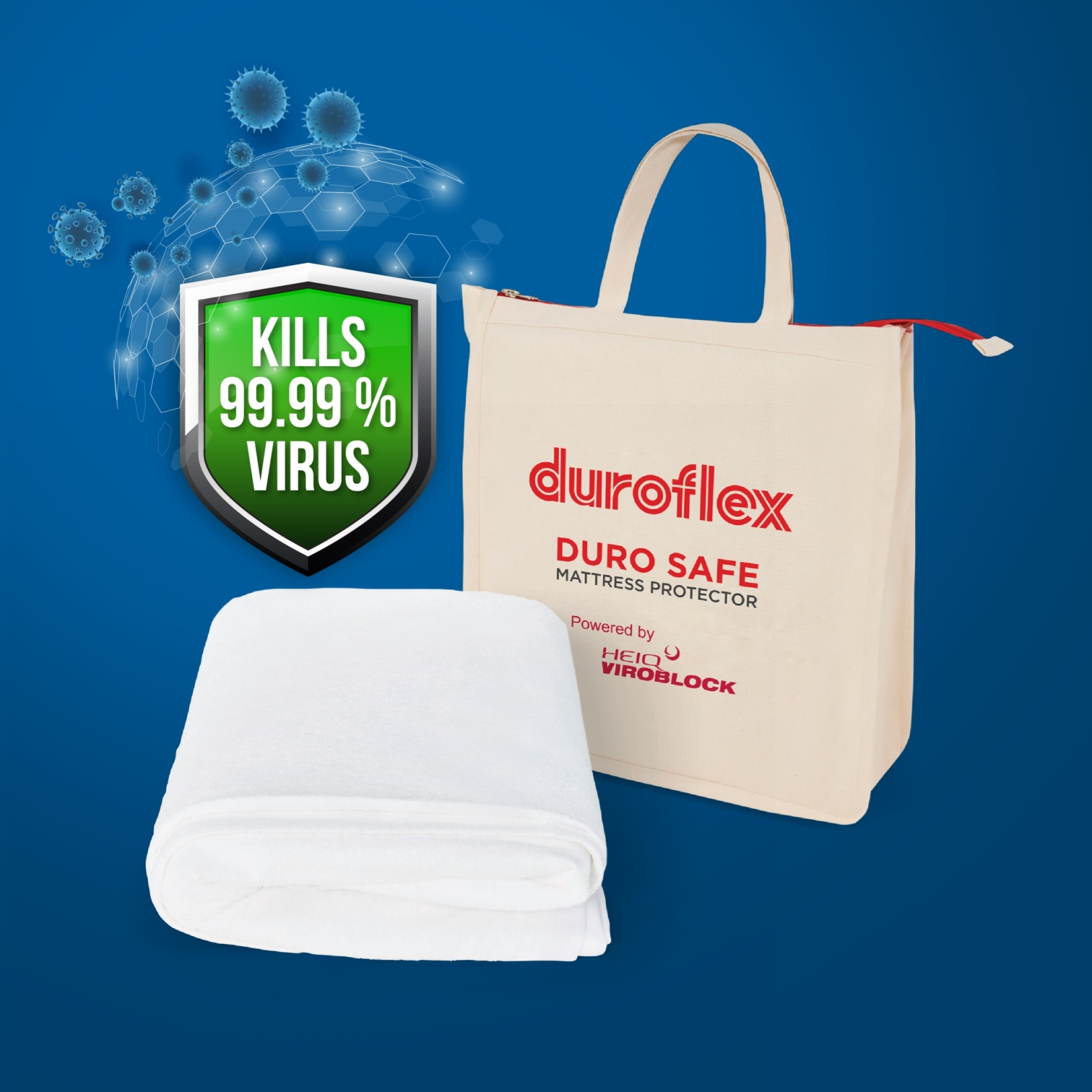 Duroflex launches India's first antiviral mattress protector, claims to kill 99.9% virus