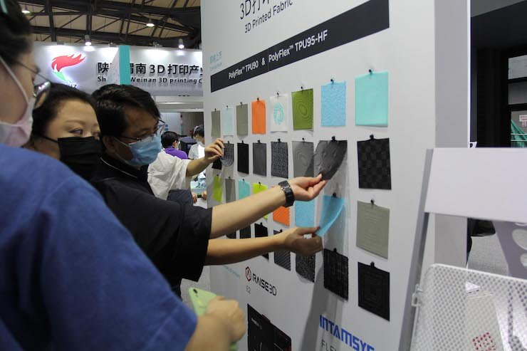 Innovation in 3D printed fabric by Covestro X Polymaker