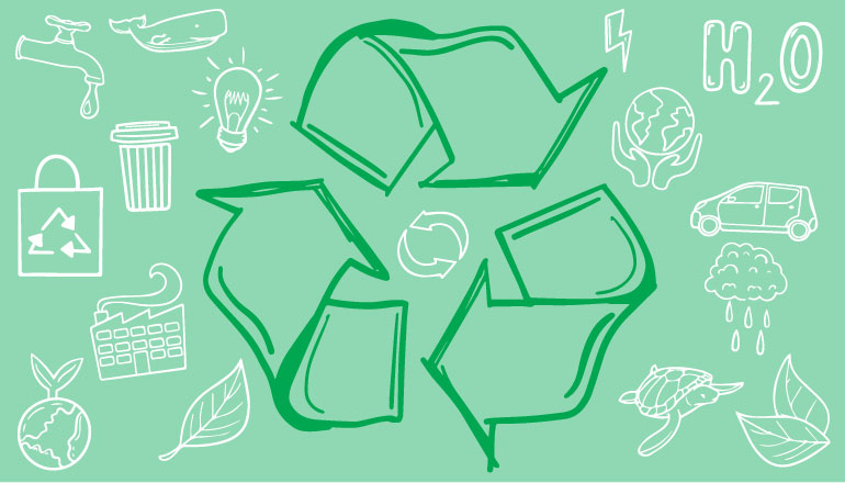 Textile recycling program in Greenwich