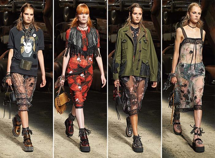 The story of grunge on the runways