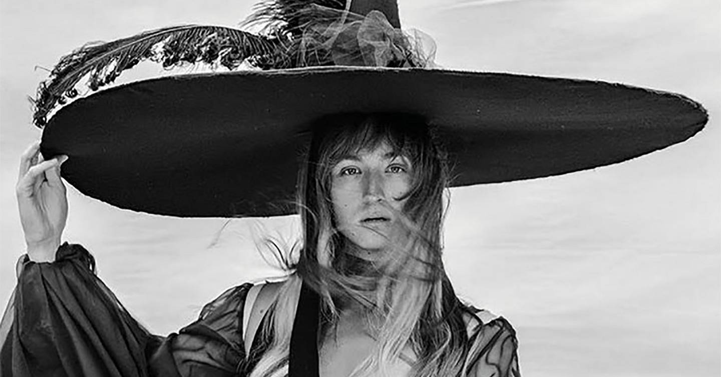 Harris Reed about revamping the hat trend