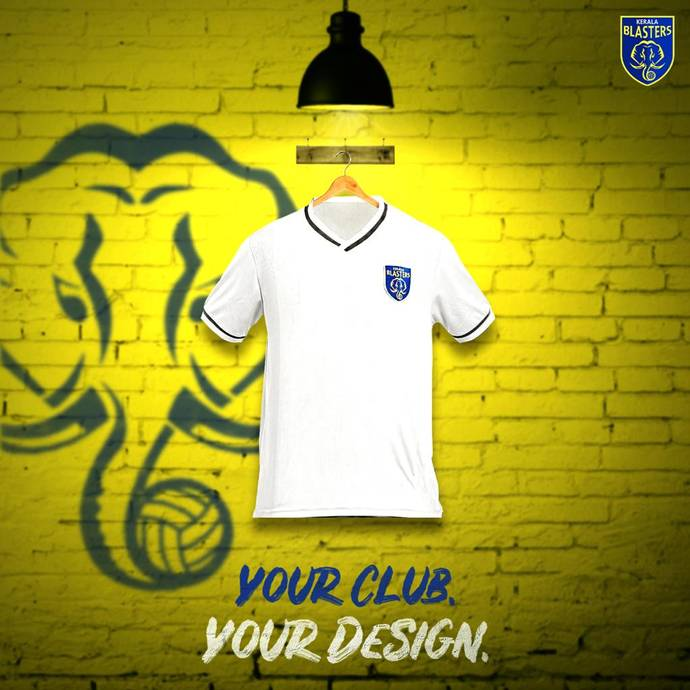A chance to design Kerala Blasters' jersey