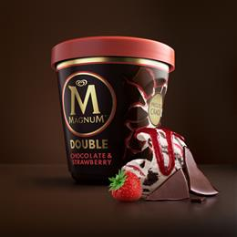 Magnum launches new tubs made using certified circular polypropylene from SABIC's TRUCIRCLE™ portfolio