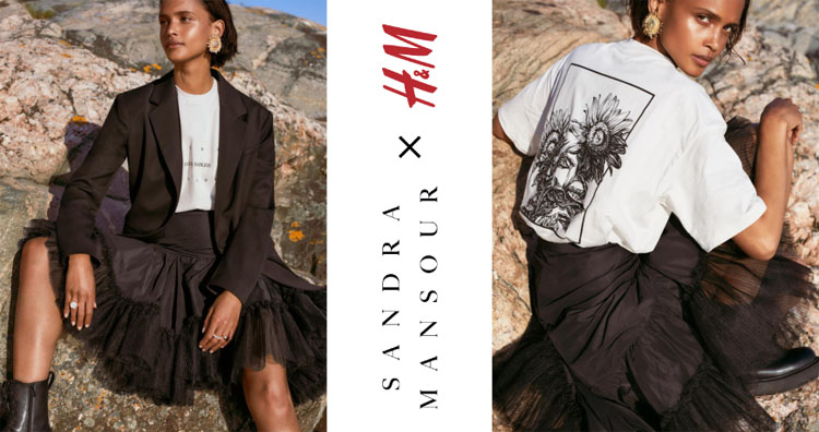 H&M announces collaboration with Beirut-based Sandra Mansour