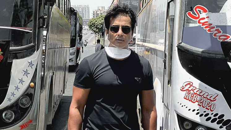 Bollywood actor Sonu Sood may help apparel exporters to get back migrant workers