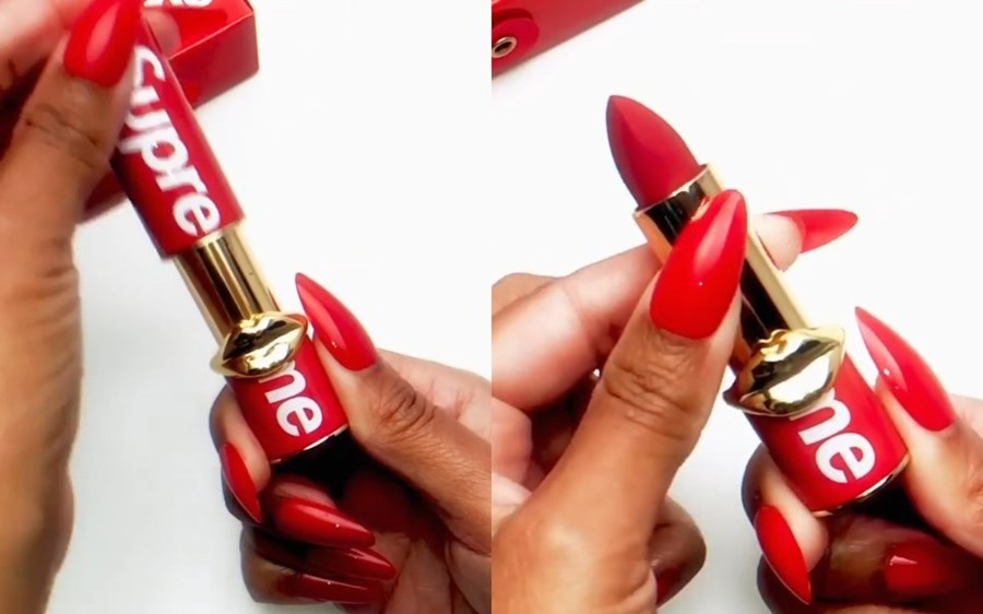 Supreme collaborates with Pat McGrath to give as the iconic red