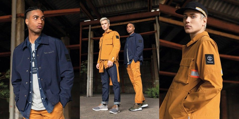 Timberland's recent recycled material collections