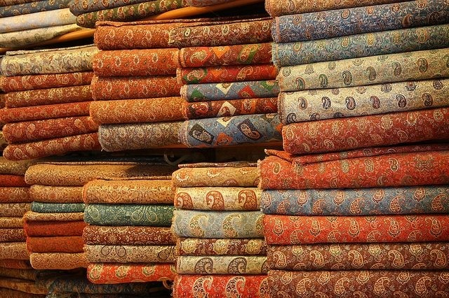 TEXTILES, EMBROIDERIES AND COSTUMES OF IRAN