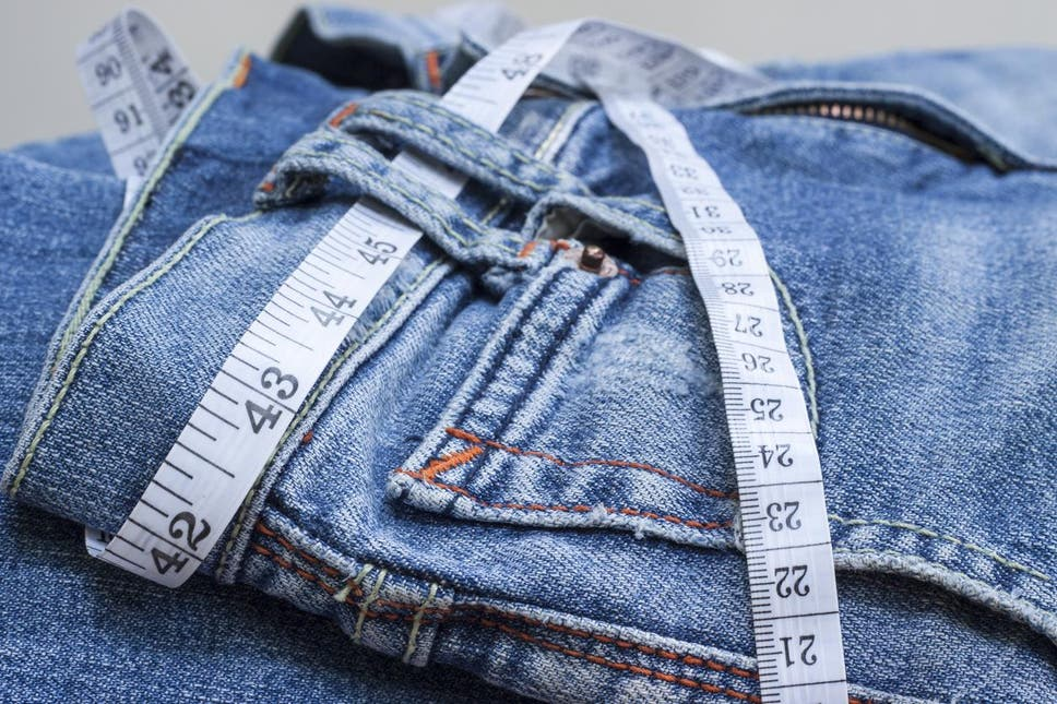 NEW LOOK CUSTOMER BUYS THREE PAIRS OF JEANS IN SAME SIZE BUT ONLY ONE FITS