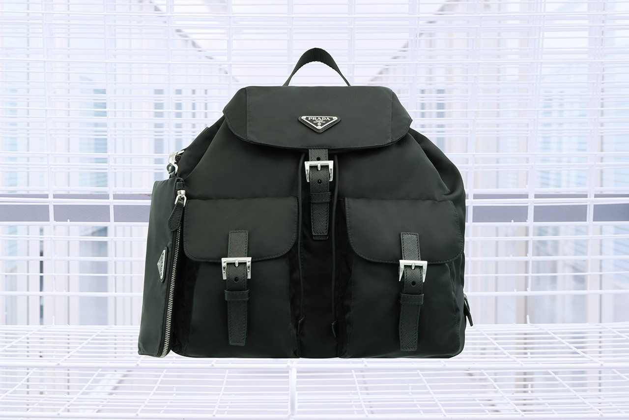 Prada along with Selfridges introduce all black recyclable line