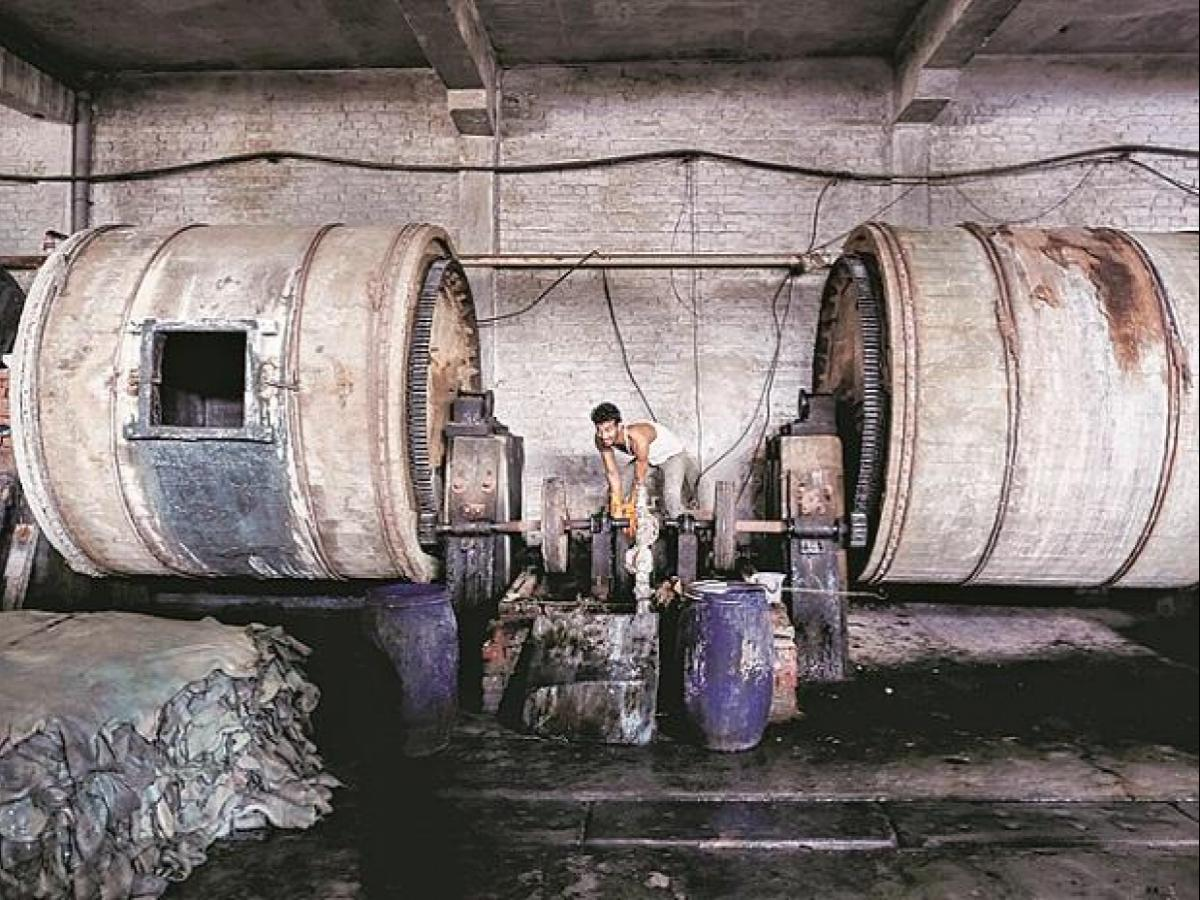 Kanpur tanneries start functioning tomorrow amid labour crunch, few orders