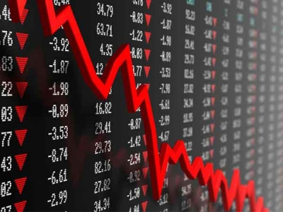 WHY STOCK MARKET WENT DOWN ON MONDAY?