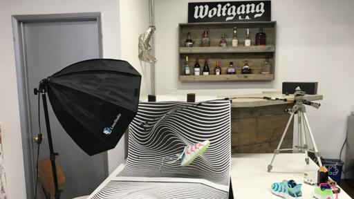 Scrappy Wolfgang completes their first Adidas project