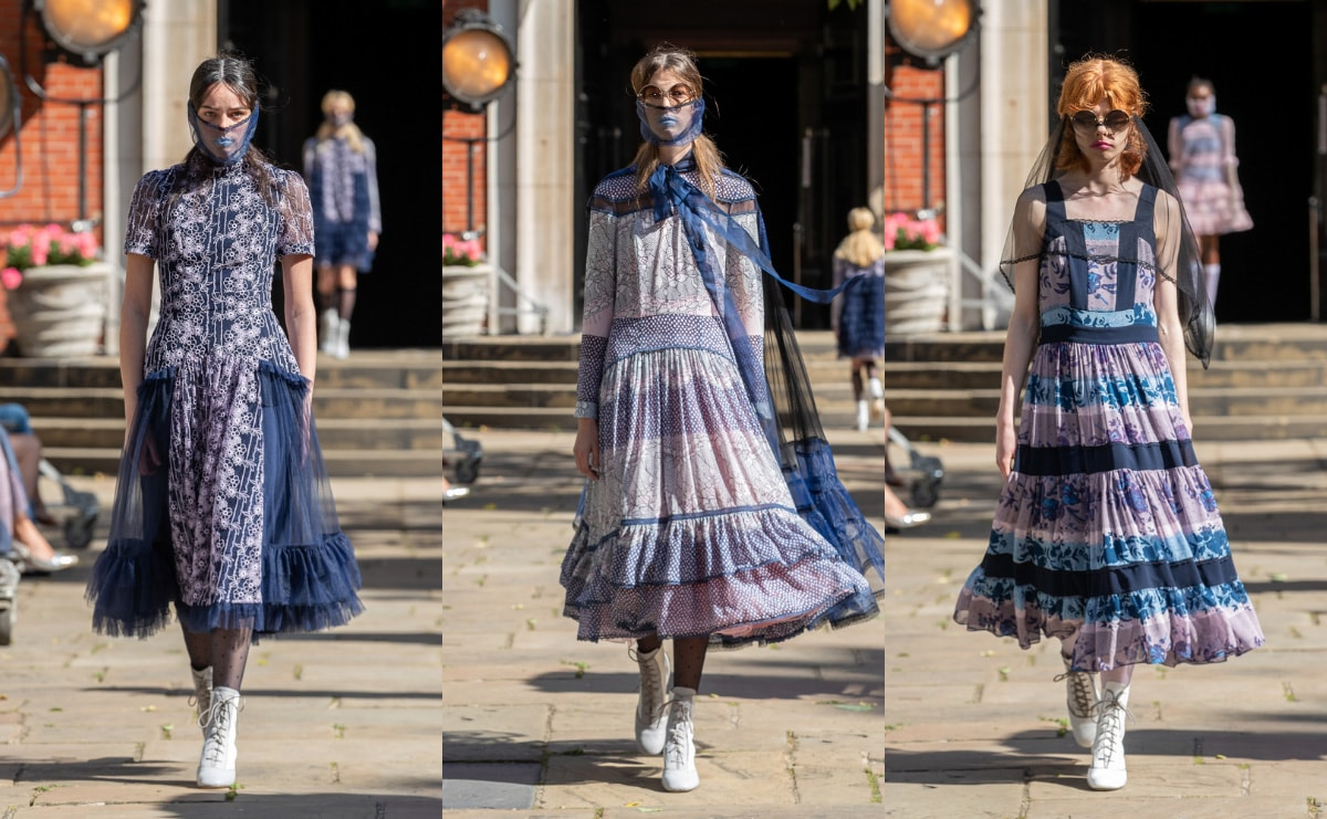 LFW: What a catwalk show looks like during a pandemic