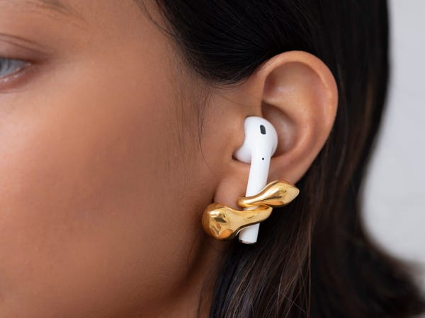 AirPod earrings are the new fashion fad