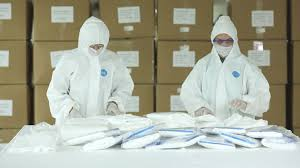 Export of PPE Suits