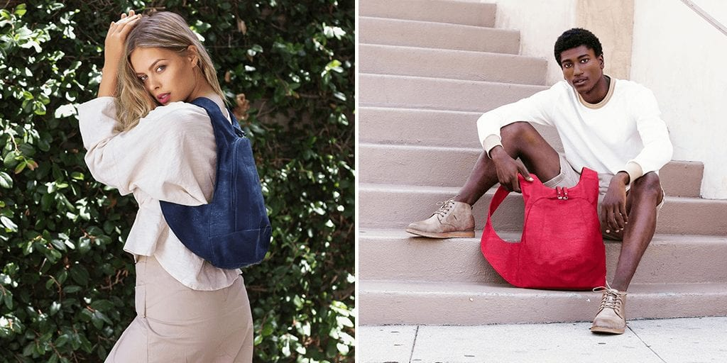 French designers create vegan leather designer bags made from cork