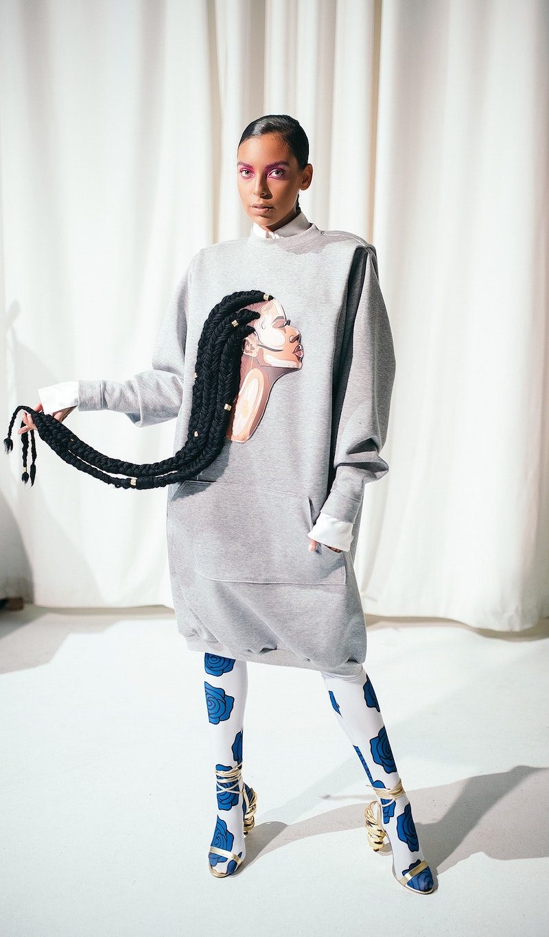 Kimberly Goldson's collection pays homage to black hair