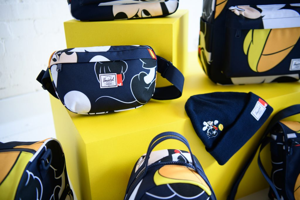 Herschel x Disney collaborate on a range of Mickey Mouse printed bags